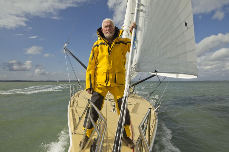 Sir Robin Knox Johnston naar start Route du Rhum