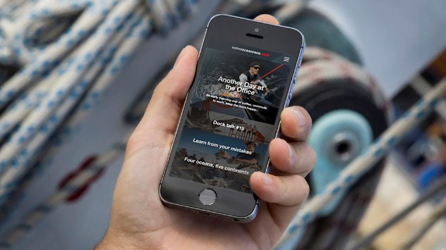 Volg Volvo Ocean Race met nieuwe app