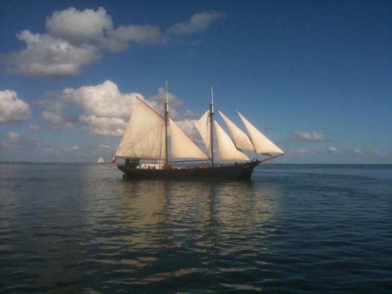 Duitse Australiërs verbouwen Nederlands schip voor zeilvracht