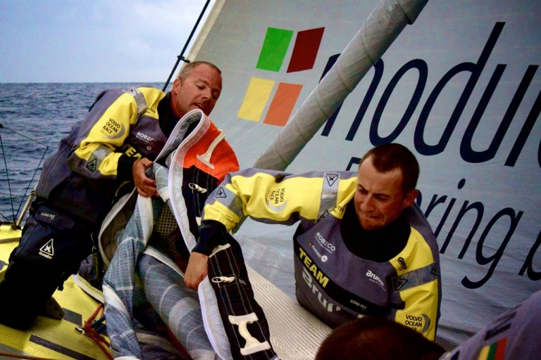 Samenvatting eerste etappe Team Brunel (video)