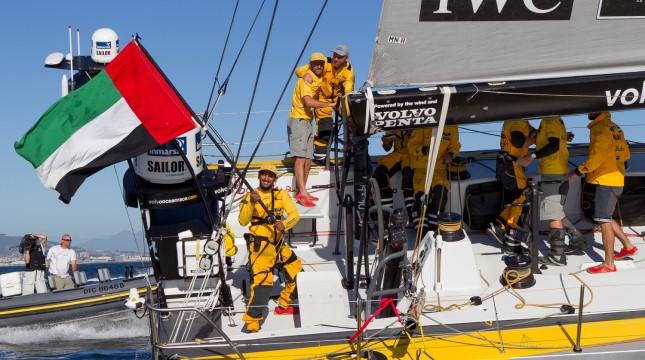 Abu Dhabi Ocean Racing wint eerste etappe VOR