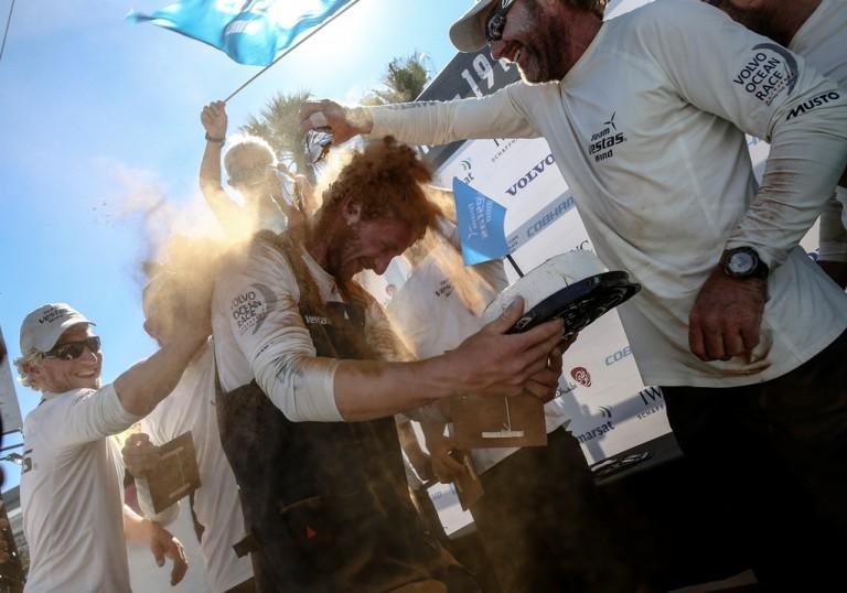 Wouter Verbraak vierde met Team Vestas Wind