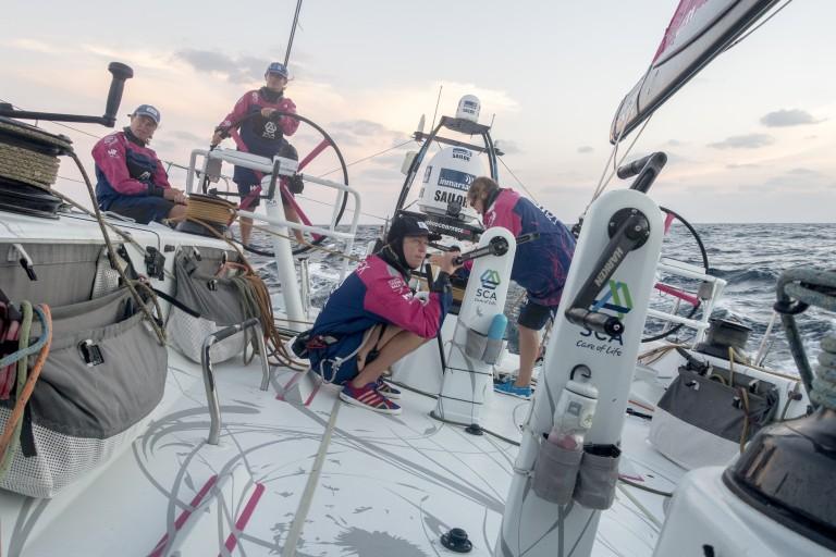Team SCA mist ervaring aan boord