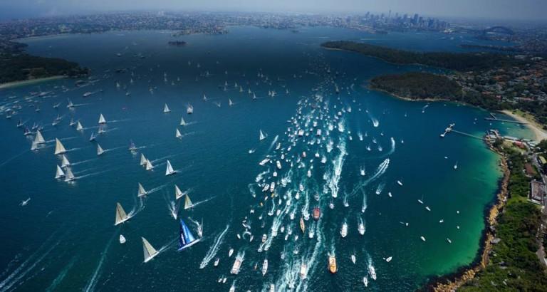 Titanenstrijd in 70e editie Rolex Sydney Hobart Race