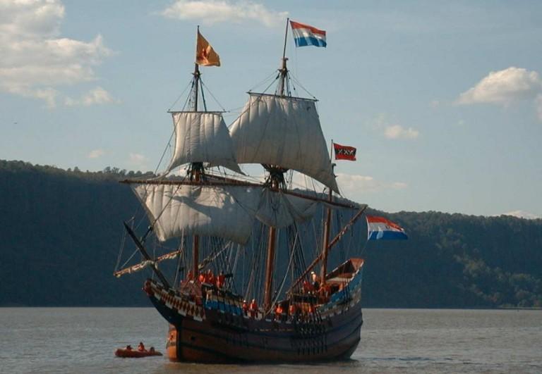 VOC-schip Halve Maen eind mei in Hoorn