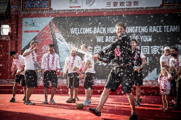 Dongfeng wint derde etappe
