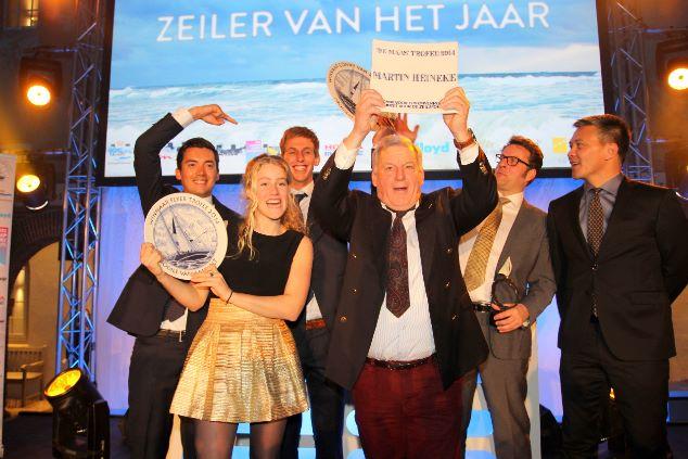Nicholas Heiner wint Conny van Rietschoten Trofee