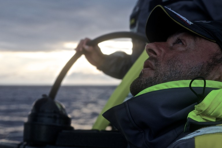 Volvo Ocean vloot in de Doldrums