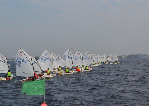 Pupillen varen Easter Regatta in Paasweekend