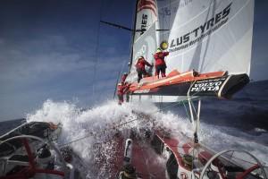 Leg 5 onboard Dongfeng Race Team.