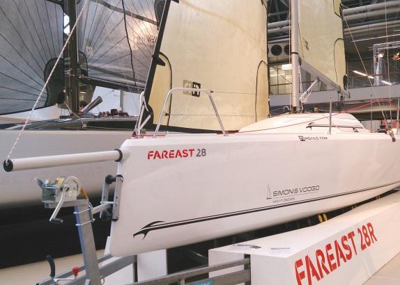 Sportboot Fareast 28R geïntroduceerd