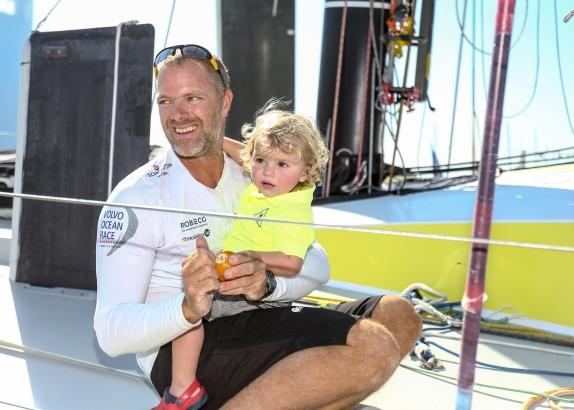 Op bezoek bij Gerd-Jan Poortman, een gesprek over de Volvo Ocean Race
