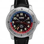 Horloge TNG GMT Jules Verne