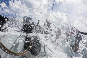 Volvo Ocean Race 2014-15 - Leg 5 van Auckland naar Itajai
