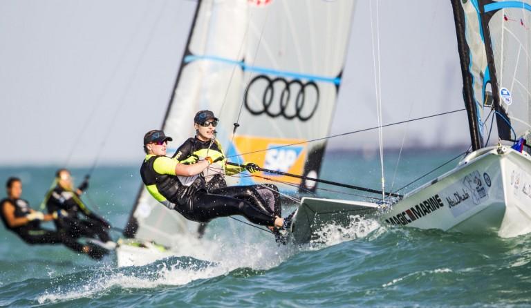 Laatste olympische kwalificatiestrijd voor 49erFX
