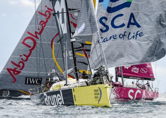 Tom Touber tevreden over verloop Volvo Ocean Race
