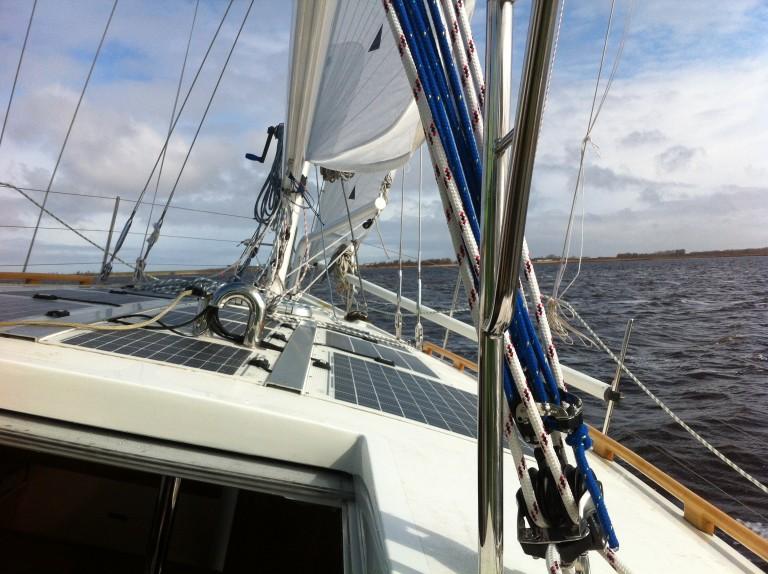 Eerste proefvaart voor Duurzaam Jacht