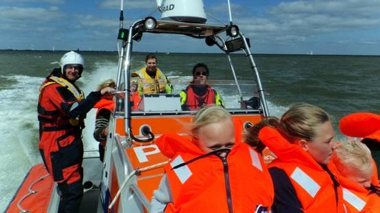 Vaar mee op een Reddingboot