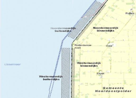 Tijdelijke afsluiting vaargebied IJsselmeer bij Rotterdamse Hoek