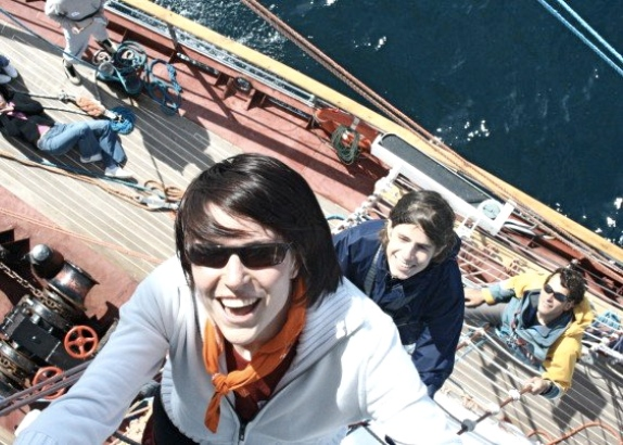 Fondsentraining voor Tall Ship trainees