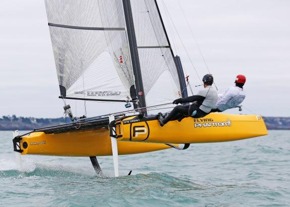 Team Zeeland vormt Nederlands Flying Phantom zeilteam