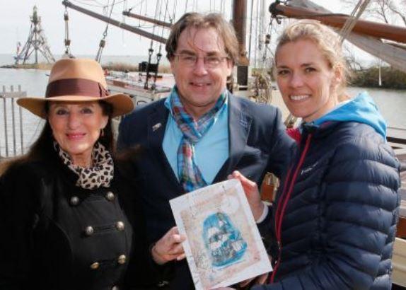 Lobke Berkhout koopt aandeel VOC-schip