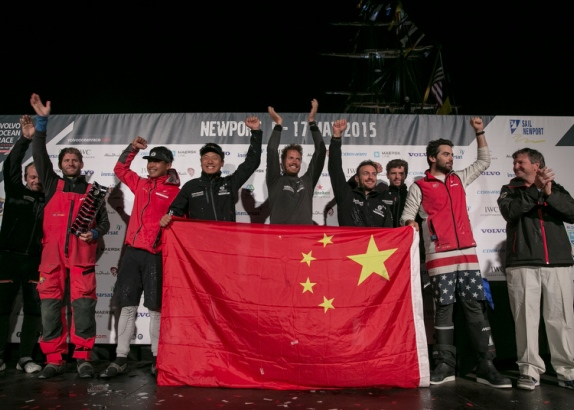 Dongfeng wint zesde etappe Volvo Ocean Race