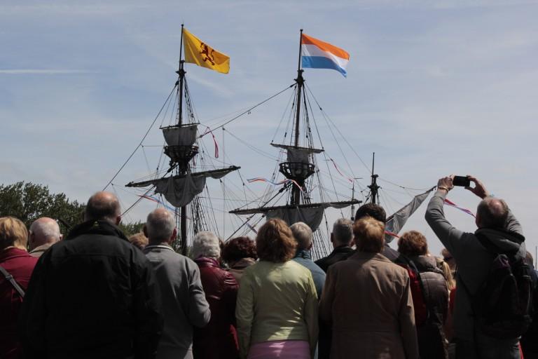 Halve Maen aangekomen in Hoorn