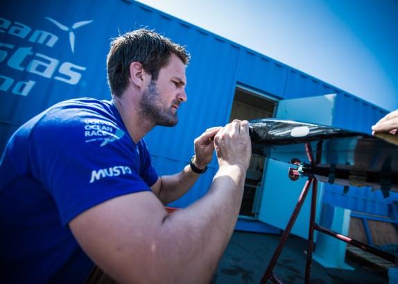 Simeon Tienpont terug in de Volvo Ocean Race