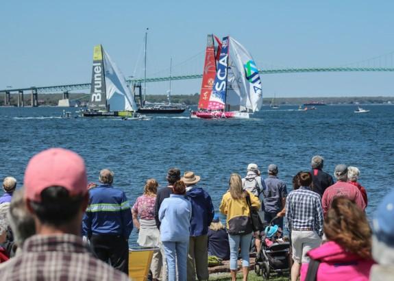 In-Port Race van Newport (video)