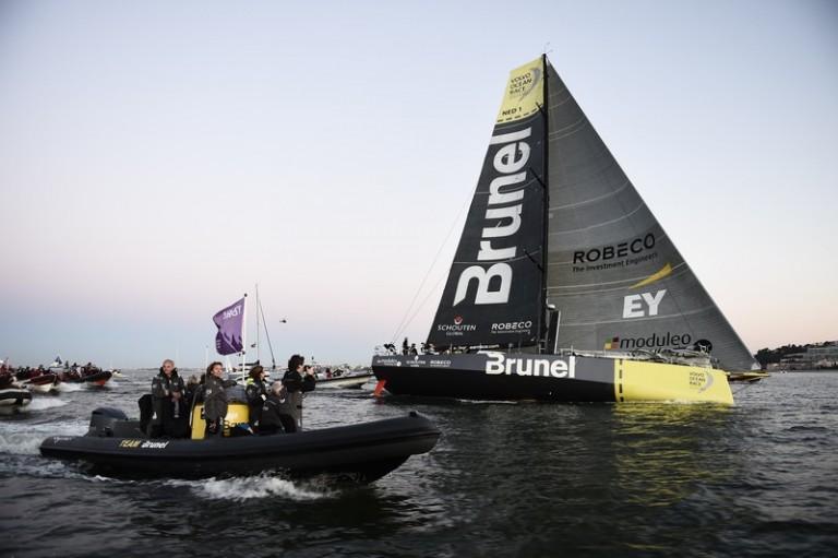 Live: aankomst Volvo Ocean Race-vloot in Lissabon