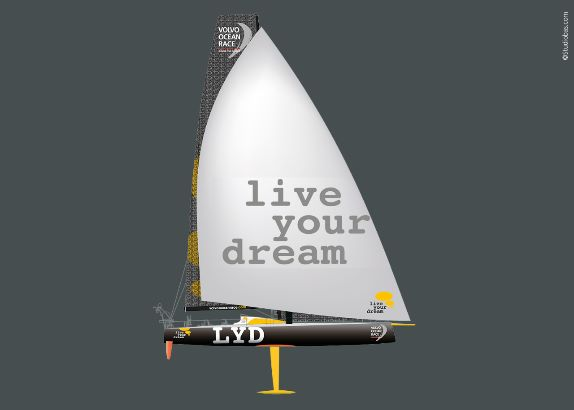 Live Your Dream in Volvo Ocean Race 2017/2018 (video)