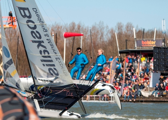 Teamrace Knockout tijdens Volvo Ocean Festival