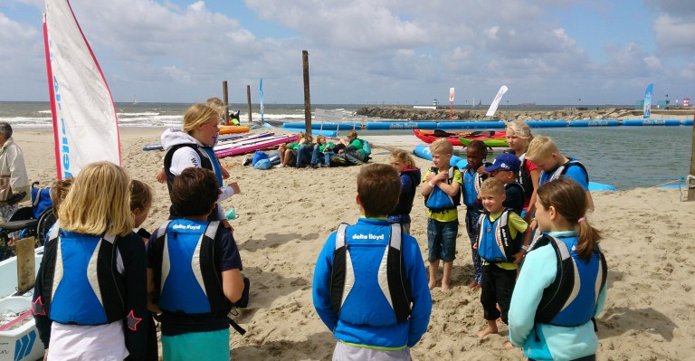 Optimist on Tour bij de Westeinderplassen