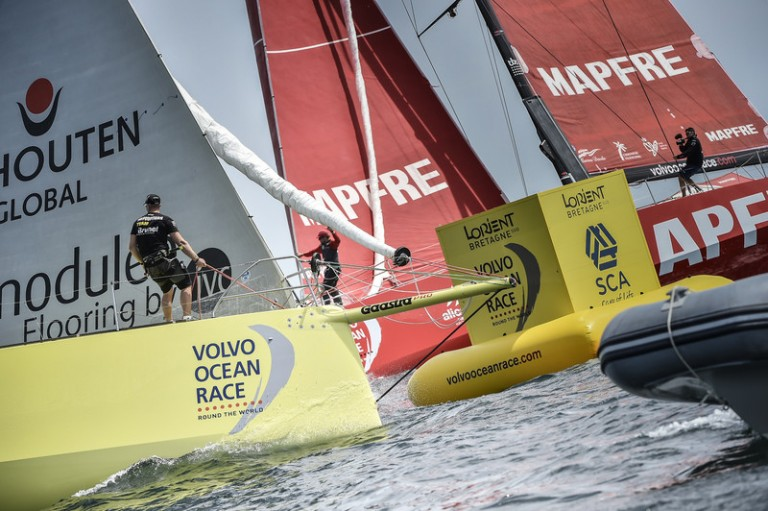 Brunel tweede in Volvo Ocean Race