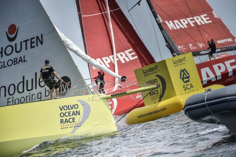 Brunel tweede in Volvo Ocean Race