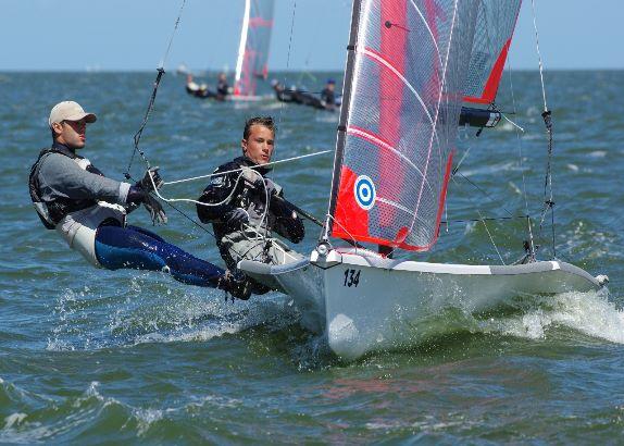Frans duo wint EK 29er