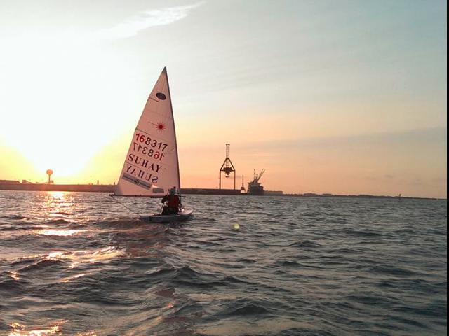 Langste singlehanded afstand in een dinghy