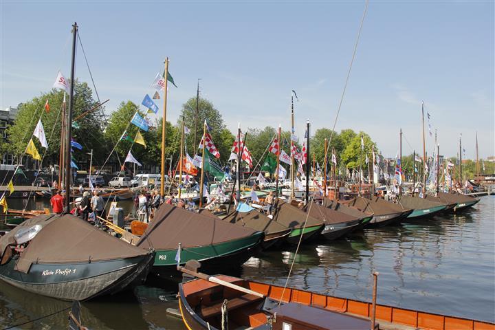 Varend erfgoed op Sail Amsterdam: De Zalmschouw