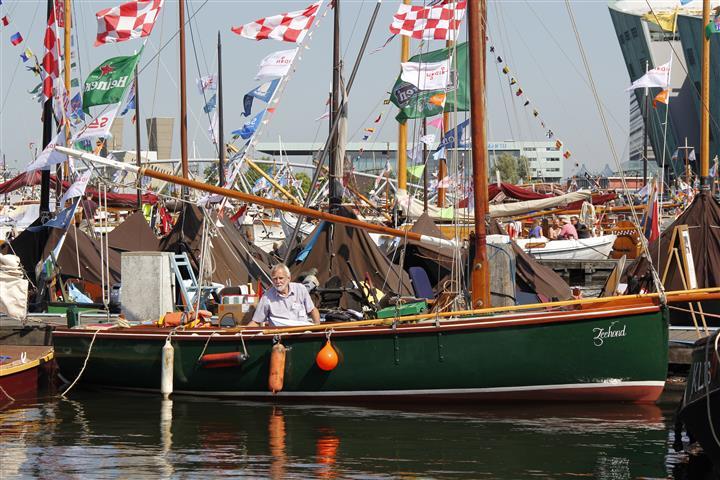 Varend Erfgoed op Sail Amsterdam: Fishing Smack