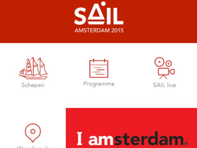 SAIL Amsterdam app is te downloaden