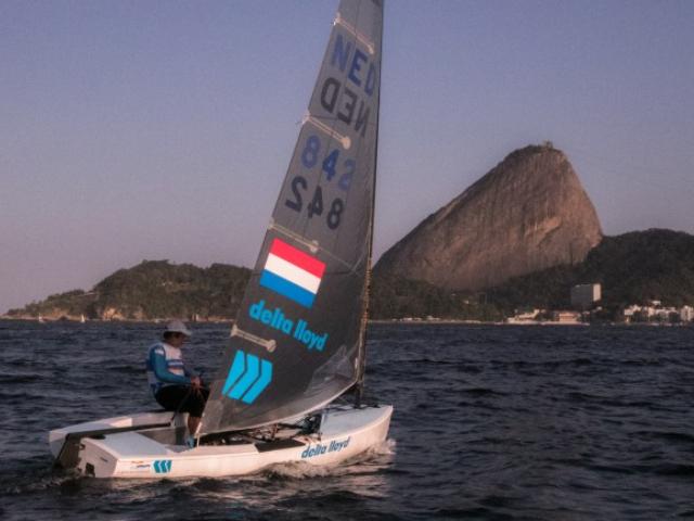 Postma aan de leiding bij Olympisch Test Event