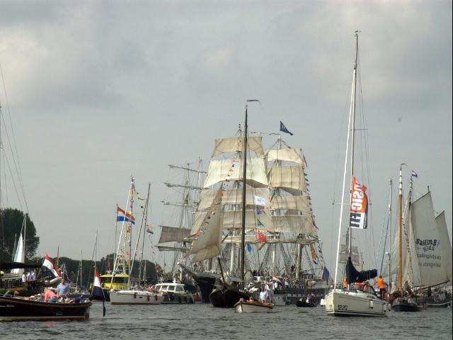 SAIL Amsterdam is geslaagd