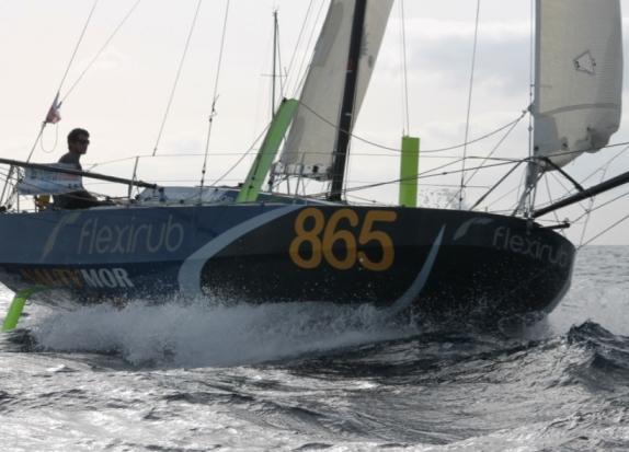 Beaudart en Lipinski winnen eerste etappe Mini Transat
