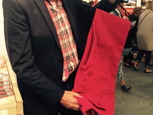 Op zoek naar de rode broek