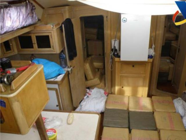 10.000 kilo hasj in Nederlands zeiljacht aangetroffen
