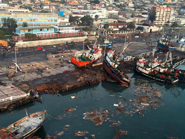 Tsunamiwaarschuwing in Chili