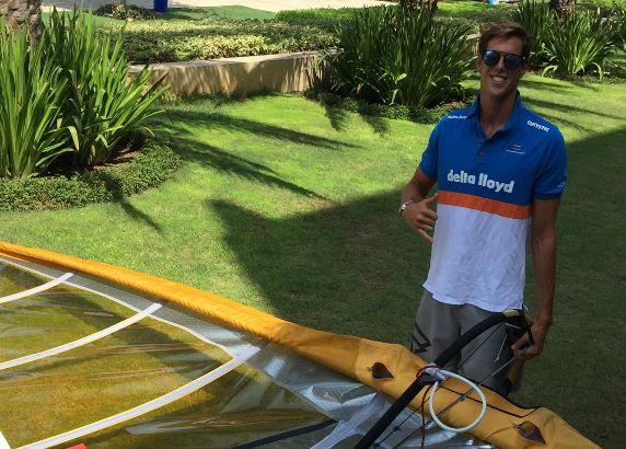 Dorian zet tandje bij richting Rio