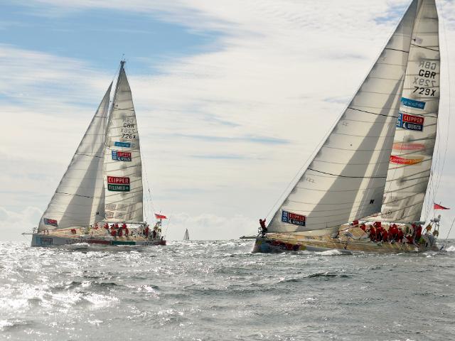 Clipper Race van Kaapstad naar Albany