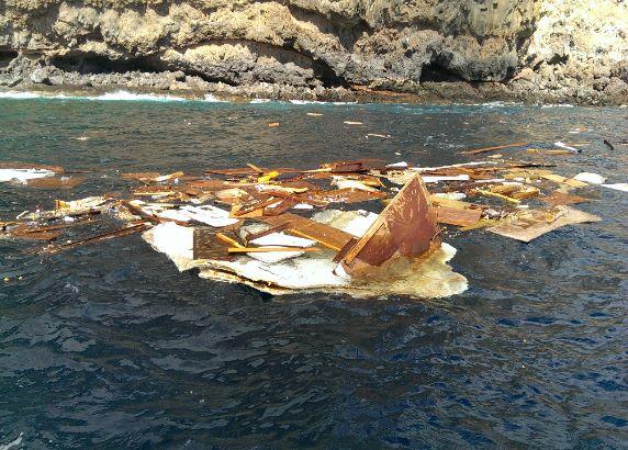 Zeiljacht De Witte Walrus zinkt bij La Gomera
